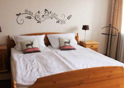 Ferienwohnung Lescher – Schlafzimmer App. 2