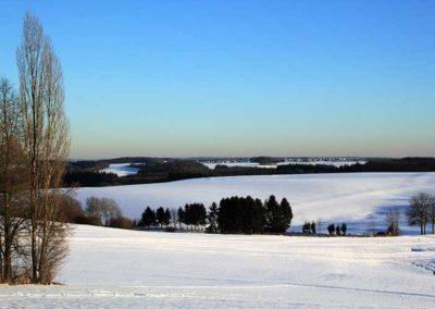 Ferienwohnung Lescher – Blick in die Winterlandschaft